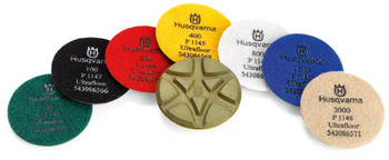 Husqvarna P 1200  Series Resin Bond Polishing Pads