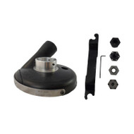 "7"" Pro Dust Shroud for Bosch.  Deluxe Kit with Convertible Shroud"