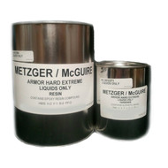 Armor-Hard Extreme Multi Temp Faster Set Structural Epoxy Liquid 1 gallon Metzger/ McGuire