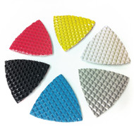 "3"" Triangular pads for polishing concrete, granite and marble"