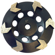 Premium Arrow Seg Cup Wheel- 5""