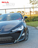 NIA Front Eyelids - Paint Matched - Scion FR-S 2013