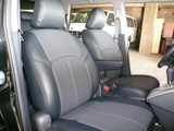 Clazzio Leather Insert Seat Covers - Scion xB 08+