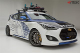 ARK Performance C-FX Fiberglass Body Kit - Hyundai Veloster Turbo 12-ON quarter view