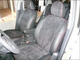Clazzio Suede Insert Seat Covers - Honda Fit 2015+