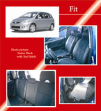 Clazzio Full PVC Seat Covers - Honda Fit 06-08