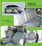 Leather Insert Seat Covers - Toyota Prius 04-08 - Toyota Prius/Prius 04-08/Clazzio Seat Covers