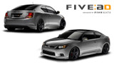 Five:AD Lip Kit - Scion tC 11+ - Scion tC/Scion tC 2011+/Exterior
