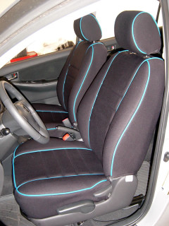 Wet Okole Waterproof Seat Covers - Full Piping - Nissan Cube/Wet Okole Seat Covers
