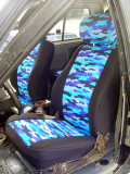 Wet Okole Waterproof Seat Covers - Patterned
