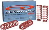Eibach Sportline Kit Springs - Honda Fit 06-08 - Honda Fit/Honda Fit 06-08/Suspension/Lowering Springs