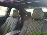 Clazzio PVC Full Quilted Seat Covers - Scion tC 11+
