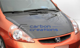 Carbon Creations OEM (Carbon) Hood - Honda FIt 07-08