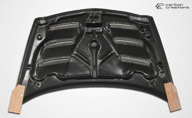 Carbon Creations GD-R (Carbon) Hood - Honda Fit 07-08 - Honda Fit/Honda Fit 06-08/Exterior