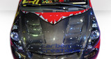 Carbon Creations GD-R (Carbon) Hood - Honda Fit 07-08
