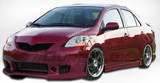 Duraflex Type B-2 Body Kit - Toyota Yaris 07-11 4DR