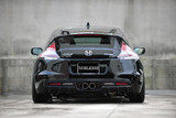 Noblesse Center Exit Exhaust System - Honda CR-Z
