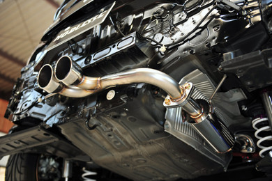 Noblesse Center Exit Exhaust System - Honda CR-Z - Honda CR-Z/Exhaust