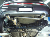Aero Over Dual Muffler - Nissan Cube - Nissan Cube/Exhaust