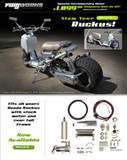 ForjWorks Air Ride Suspension  Full Kit - Honda Ruckus - Honda Ruckus/Air Suspension Kit