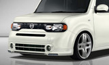 JP USA Front Under Spoiler with LED DRL - Nissan Cube