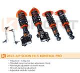 KSport Kontrol Pro Coilovers - Scion FR-S