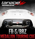 Tanabe Medalion Touring Cat-Back Exhaust - Scion FR-S