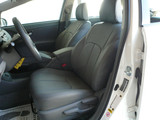 Clazzio Leather Insert Seat Covers -Toyota Prius V 2012+