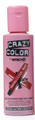 Crazy Color - Semi-Permanent Hair Color Cream 100ml - #40 Vermillion Red