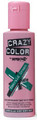 Crazy Color - Semi-Permanent Hair Color Cream 100ml - #53 Emerald Green
