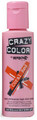Crazy Color - Semi-Permanent Hair Color Cream 100ml - #57 Coral Red