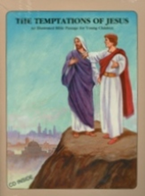 Temptations Of Jesus (Book & CD)