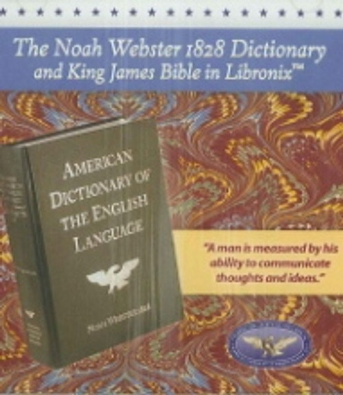Noah Webster's 1828 Dictionary - CD ROM