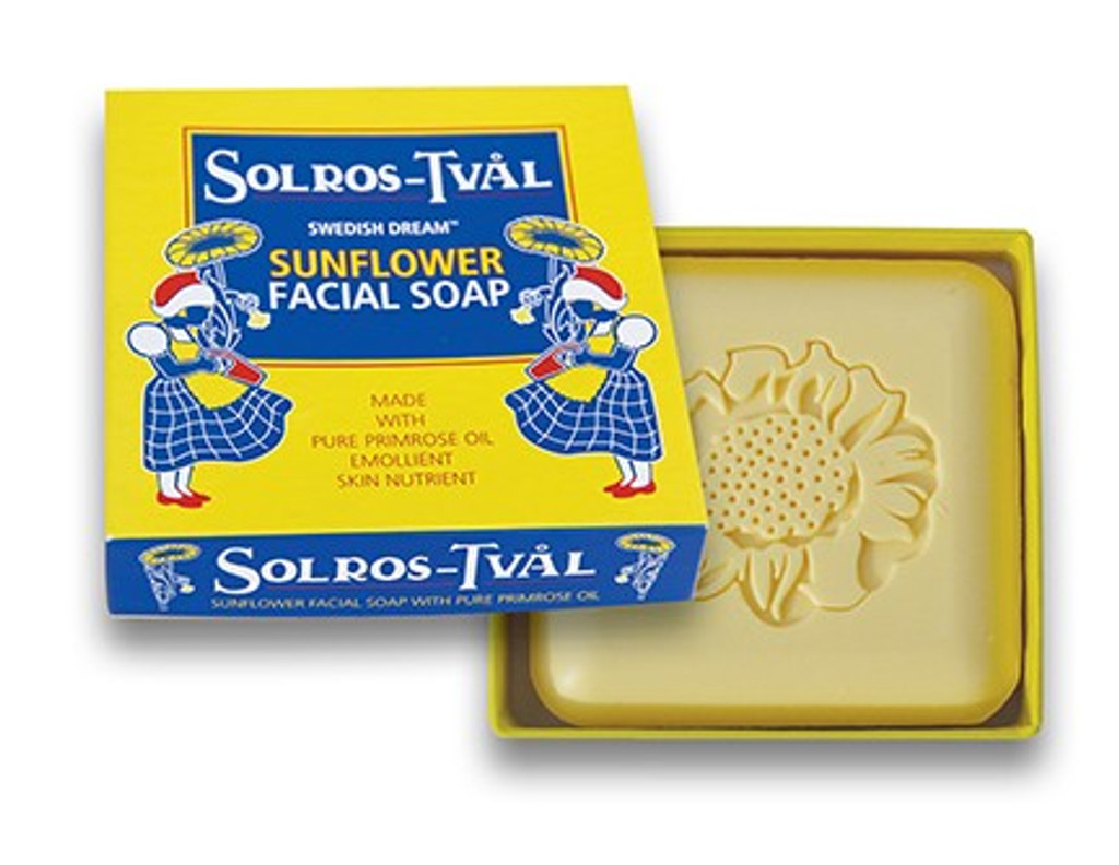 Sunflower and Evening Primrose Gentle Facial Cleansing Bar (For Dry and Sensitive Skin)