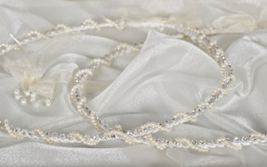Faith & Wisdom Stefana Hand made Greek Orthodox Crowns direct from Cyprus