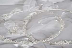 Crown Stefana presents Starlet Greek Orthodox Wedding Crowns.  www.crownstefana.com