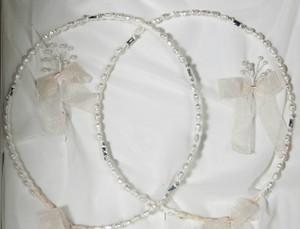 Crown Stefana presents Eternity hand made Greek Orthodox wedding crowns
