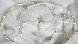 Crown Stefana presents Royal Blue Stefana - Hand made wedding crowns from Cyprus