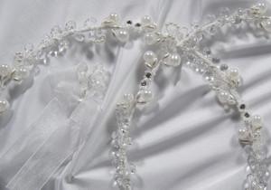 Crystal Pearl Fusion Stefana by www.crownstefana.com
