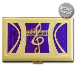 Art & Music Cigarette Case Wallets
