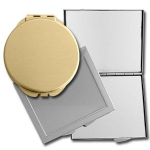 Classic Engraved Mirror Compacts