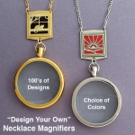 Magnifying Glass Necklaces