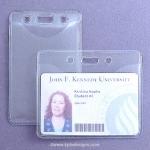 Clear Plastic Badge Holders