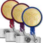 Round Design Badge Reel Colors