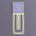 Number Bookmarks for Books