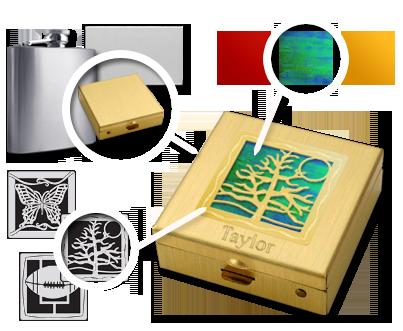 Create Unique Gifts in 500 Designs