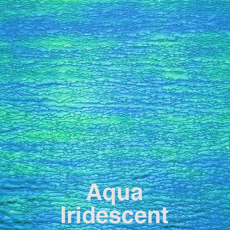 Aqua Iridescent Color