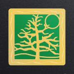 Gold - Green Aluminum