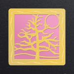 Gold - Pink Aluminum