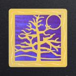 Gold - Purple Iridescent